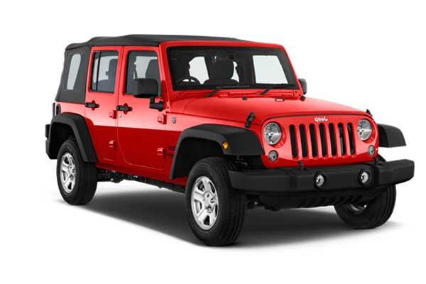 Alquiler Coches Formentera - Jeep Wrangler Long Body
